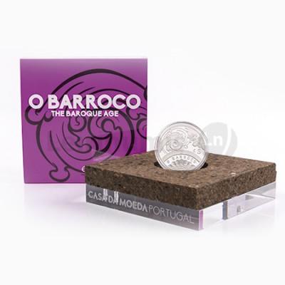 Moeda 5€ O Barroco 2018 Prata Proof