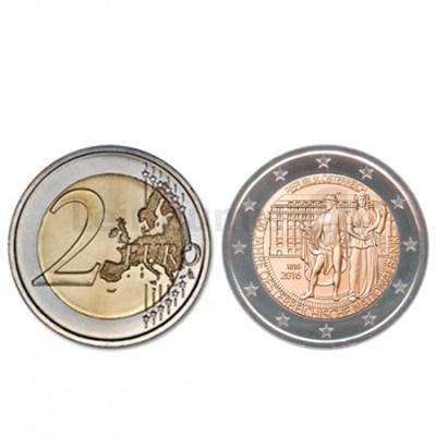 Moeda 2 Euro Áustria 2016 200 Anos National Bank