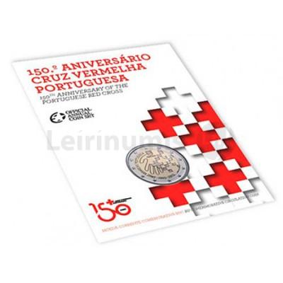 Moeda 2 Euros Cruz Vermelha - Portugal 2015 BNC