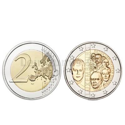 Moeda 2 Euros Dinastia de Nassau - Luxemburgo 2015