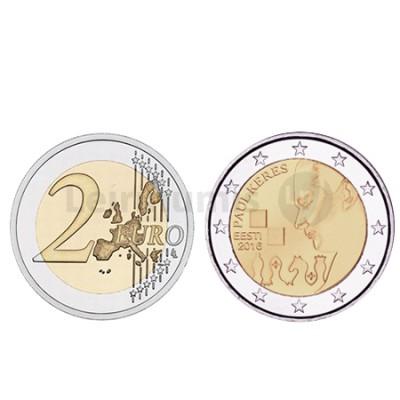 Moeda 2 Euro  Estónia 2016 Paul Keres