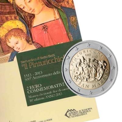2 Euros Pinturicchio San Marino 2013