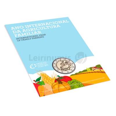 2 Euros Anos Internacional Agricultura Familiar BNC Portugal 2014