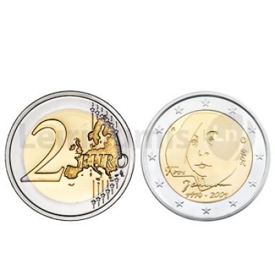 2 Euros 100 Anos Nascimento de Tove Janson Finlândia 2014