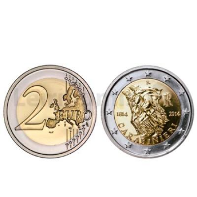 2 Euros 200 Anos da Fundação Carabiniere Italia 2014