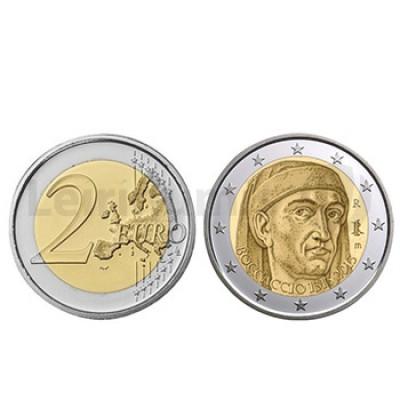 2 Euros Boccaccio Italia 2013
