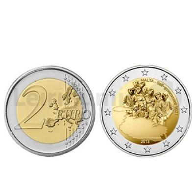 2 Euros Independencia 1921 Malta 2013