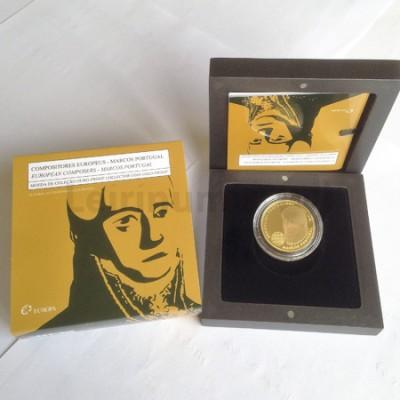 Moeda 2,5€ Comemorativa Marcos Portugal Ouro Proof 2014