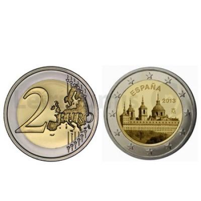 2 Euros Mosteiro do Escorial Espanha 2013