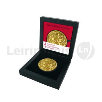 Moeda Comemorativa Portugues de D Manuel I 2011 Ouro Proof