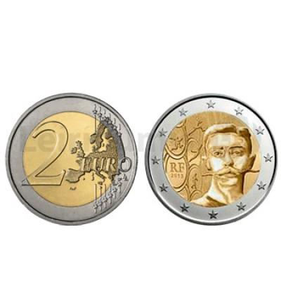 2 Euros Pierre Coubertin França 2013