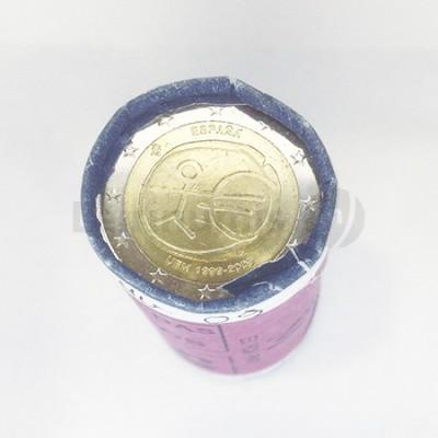 Rolo 25 Moedas 2 Euros 10 Aniversario UE Espanha 2009