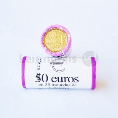 Rolo Moedas 2 Euros 30 Anos da Bandeira da Europa Bélgica 2015