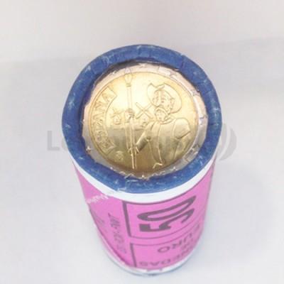 Rolo 25 Moedas 2 Euros D Quixote Espanha 2005