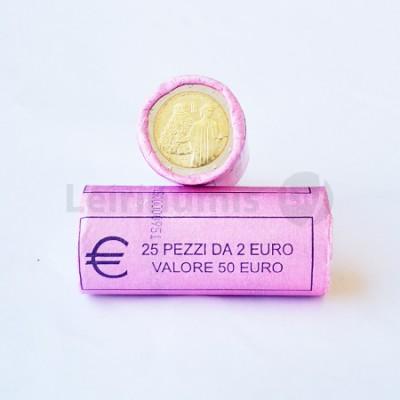 Rolo Moedas 2 Euros Dante Itália 2015