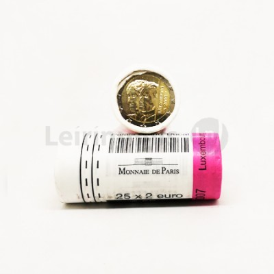 Rolo 25 Moedas  2 Euros Duquesa Charlotte Luxemburgo 2009