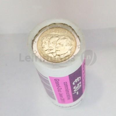 Rolo Moedas 2 Euros Gran Duque Gean Luxemburgo 2011