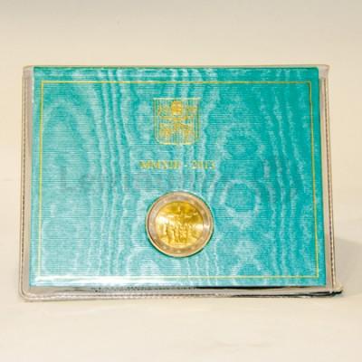 2 Euros Sede Vacante Vaticano 2013