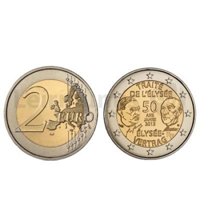 2 Euros Tratado Eliseu França 2013