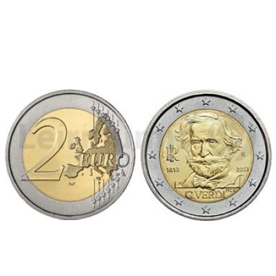 2 Euros Giuseppe Verdi Italia 2013
